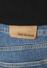 True Religion - ROCCO DESTROYED - Džíny Straight Fit - blue denim - 4
