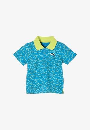 Poloshirt - aqua aop