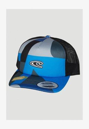 TRUCKER - Cap - grey with blue