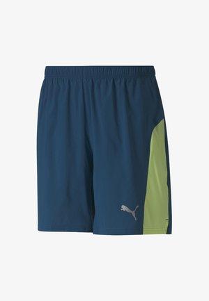 Sports shorts - digi-blue-fizzy yellow