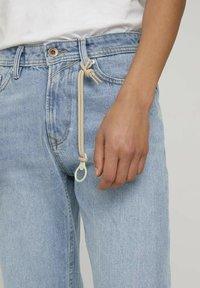 TOM TAILOR DENIM - Straight leg jeans - super stone blue denim - 2