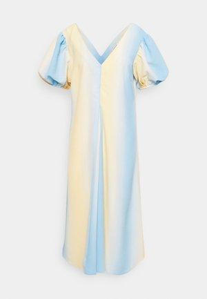 MASANA DRESS - Day dress - cloudy/lemon mix