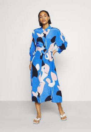 NUCORA DRESS - Shirt dress - ultramarine