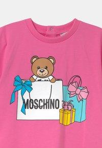 MOSCHINO - Jersey dress - azalea pink - 2