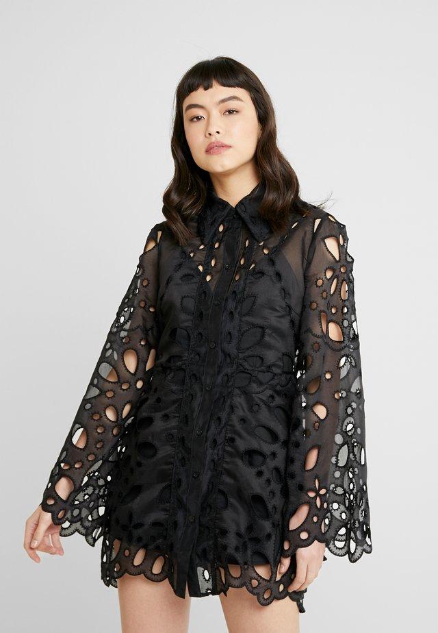 BAUDELAIRE MINI DRESS - Haalari - black