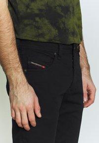 Diesel - LARKEE - Straight leg jeans - black denim - 3