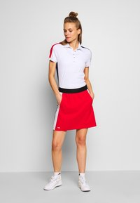 Colmar - ZONE - Polo shirt - white/prussian blue/bright red - 1