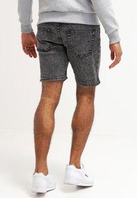 YOURTURN - Denim shorts - black moonwash - 2