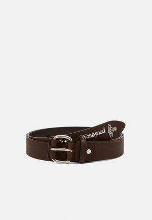 BELTS ROLLER BUCKLE BELT - Pásek - brown