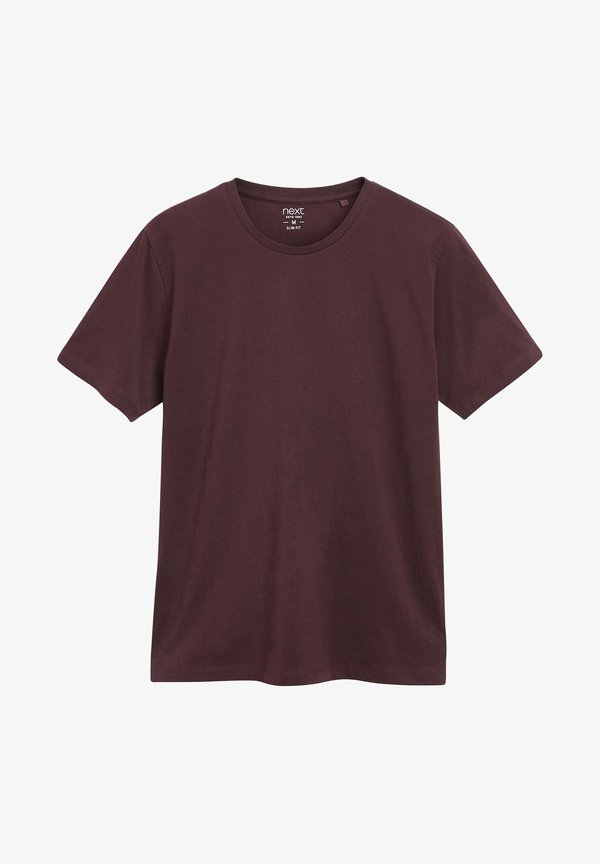 Next T-shirt basic - red/czerwony Odzież Męska CSTN