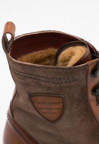 Cordwainer - Lace-up ankle boots - capri noce/venecia leaf - 3