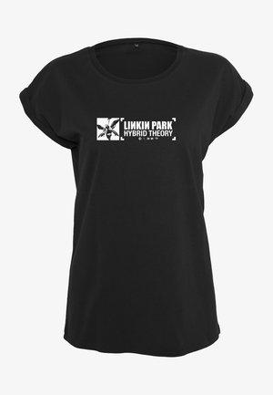 LINKIN PARK ANNIVERSARY SIGN TEE - Printtipaita - black