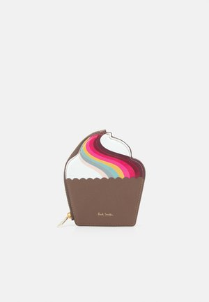WOMEN PURSE CUPCAKE - Peněženka - brown/multi-coloured
