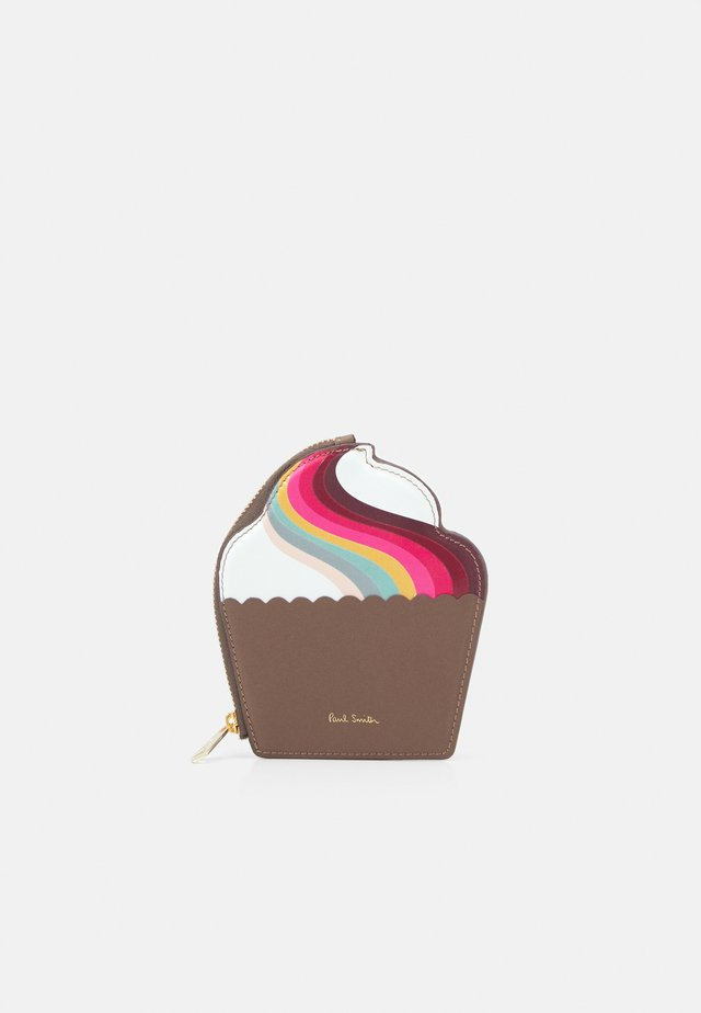 WOMEN PURSE CUPCAKE - Wallet - brown/multi-coloured