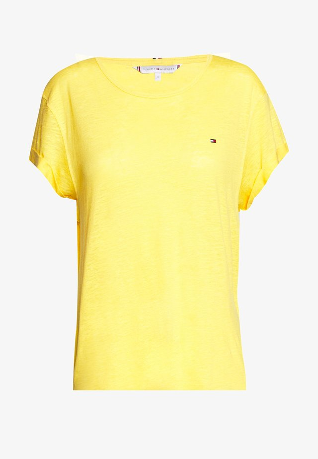 VIKKI ROUND - T-shirts basic - sunny