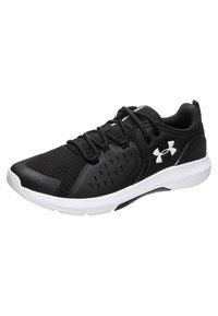 Under Armour - CHARGED COMMIT TR  - Sportovní boty - black/white - 2