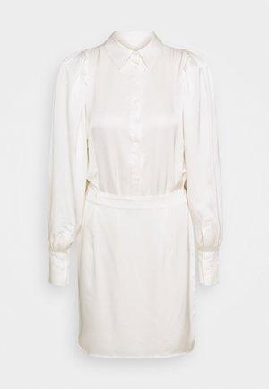 EMMY SHORT DRESS - Shirt dress - cream