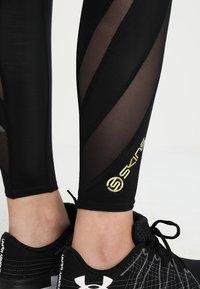 Skins - DNAMIC LONG - Leggings - black - 4