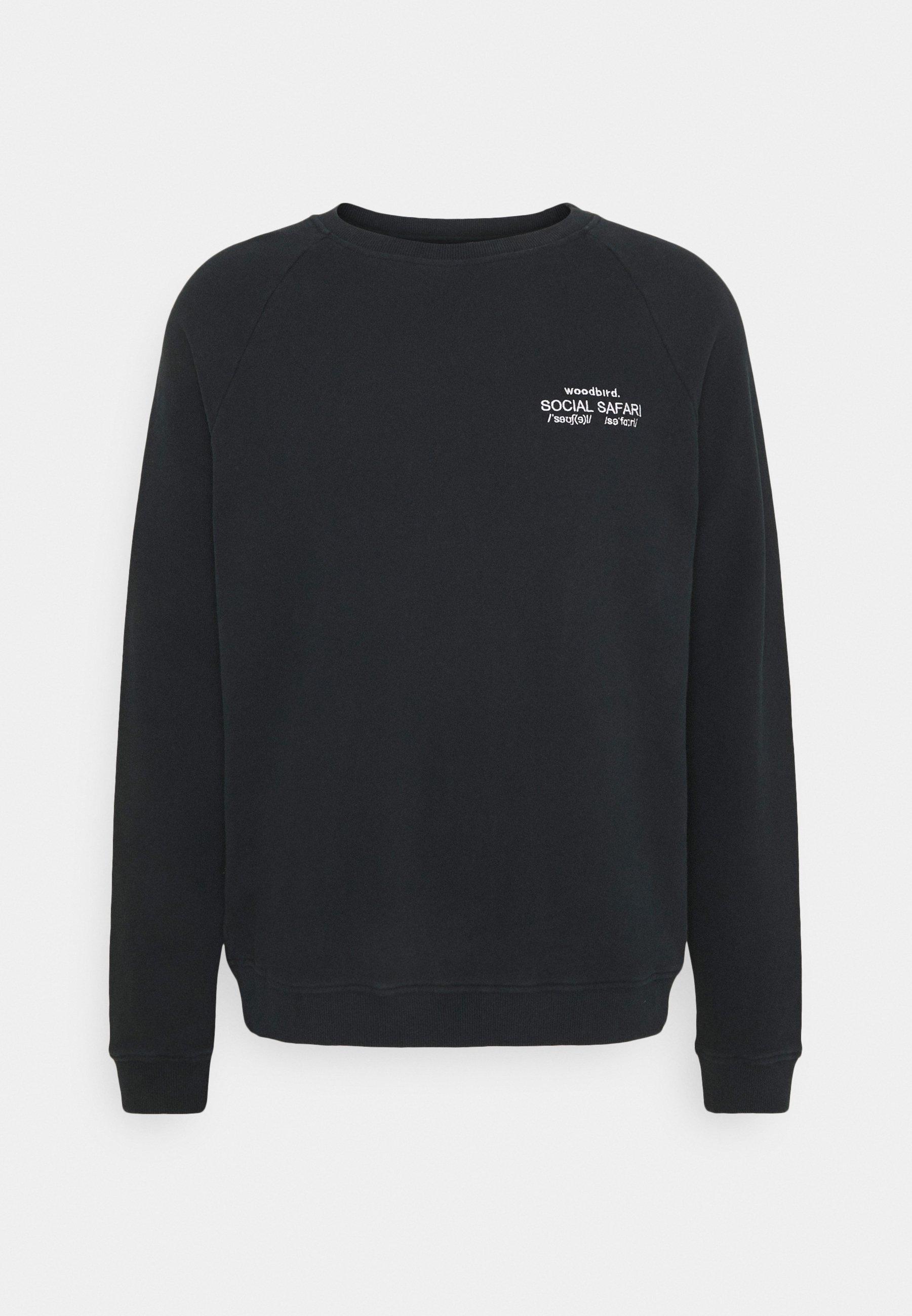 Homme PLATE CREST CREW - Sweatshirt