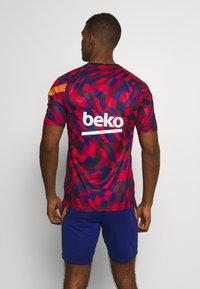 Nike Performance - FC BARCELONA  - Equipación de clubes - university red/amarillo - 2
