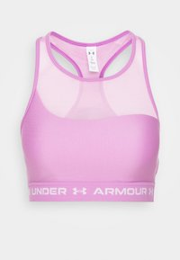 Under Armour - MID CROSSBACK BRA - Sports-BH - exotic bloom - 4