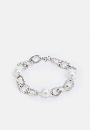 CHUNKY PEARL BRACELET UNISEX - Bracelet - silver-coloured