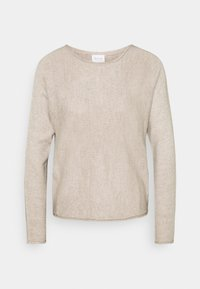 Vila - VISOLASS ONECK - Jumper - simply taupe - 0