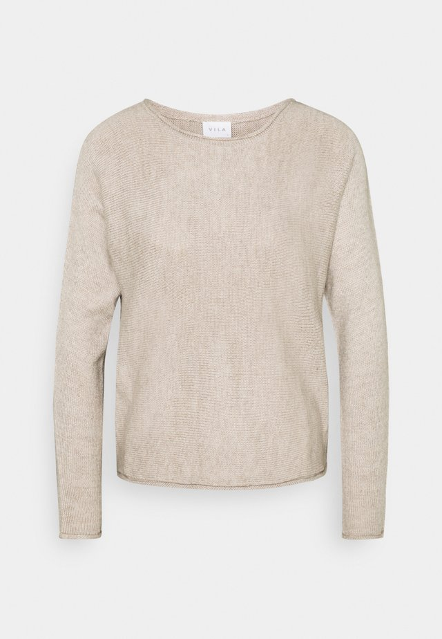 VISOLASS ONECK - Jumper - simply taupe