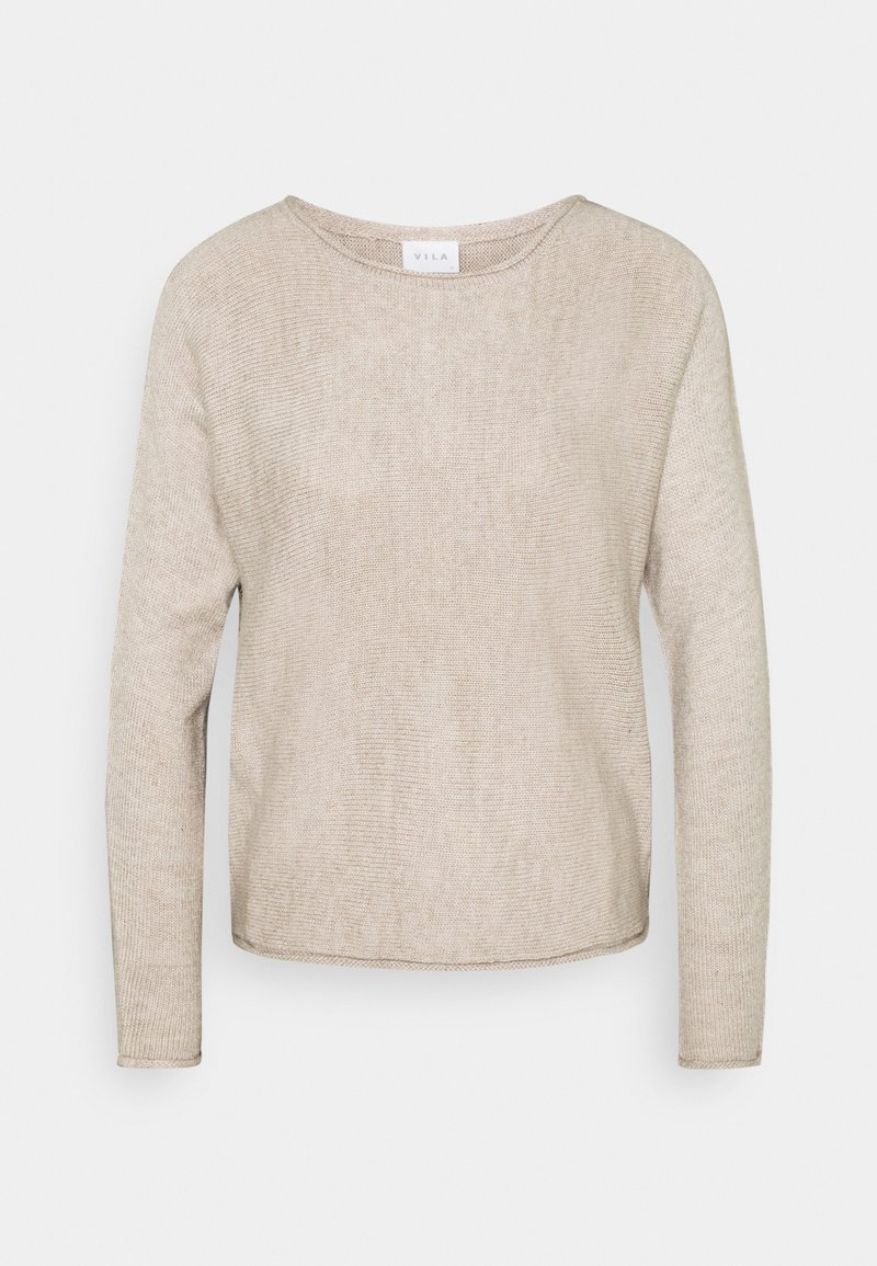 Vila - VISOLASS ONECK - Jumper - simply taupe