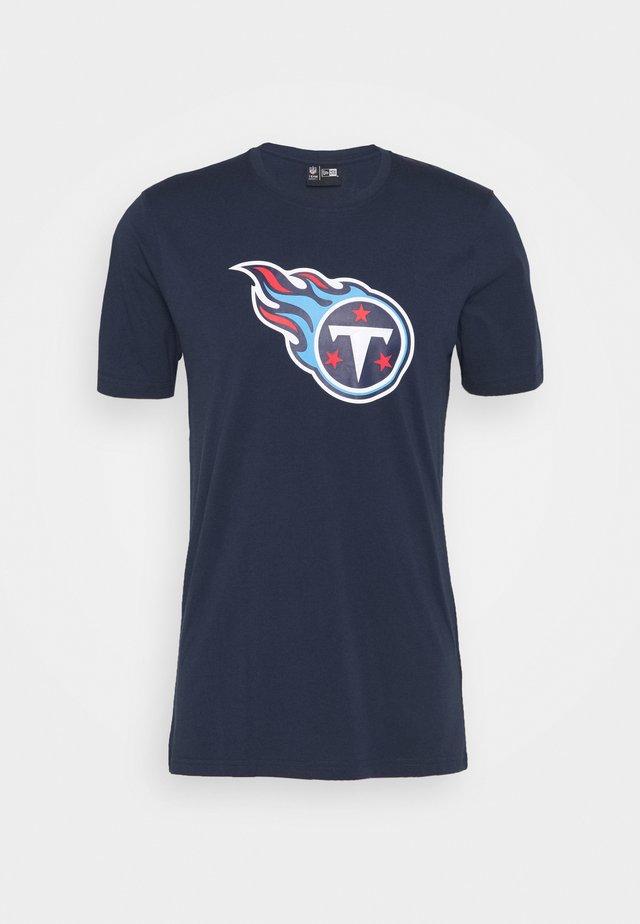 NFL TENNESSEE TITANTS - Print T-shirt - blue