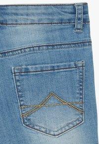 Lemon Beret - TEEN GIRLS - Denim shorts - medium blue - 4