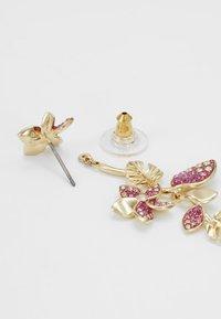 Swarovski - TROPICAL LONG FLOWER - Earrings - gold-coloured - 2