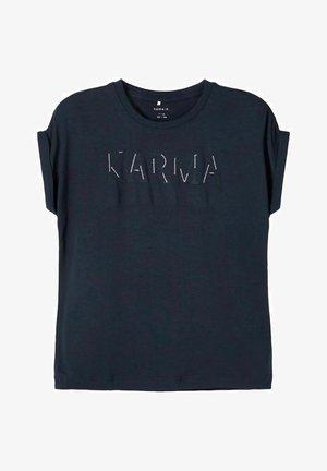 BESTICKT - T-shirt print - dark sapphire