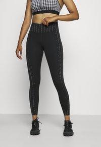 Nike Performance - ONE - Leggings - black/clear - 0