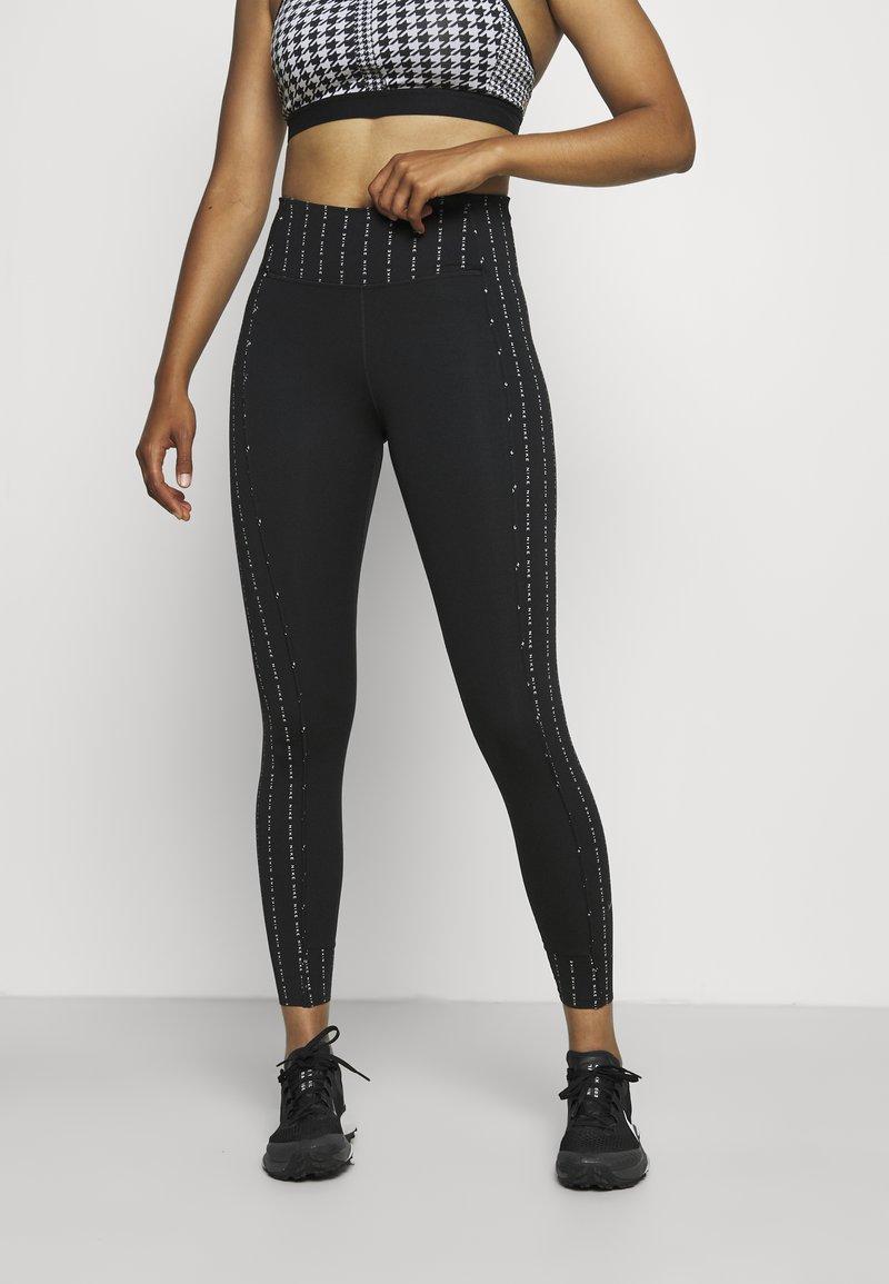 Nike Performance - ONE - Leggings - black/clear