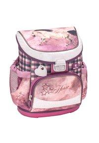 Belmil - SET - School bag - dark red - 3