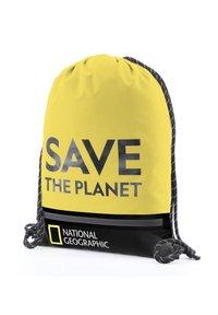 National Geographic - Drawstring sports bag - gelb - 3