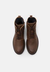 Selected Homme - SLHTHOMAS BOOT  - Šněrovací kotníkové boty - cognac - 3