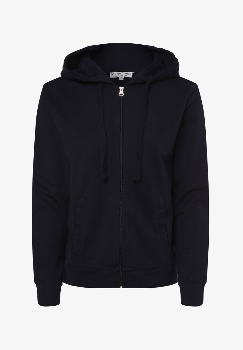 Marie Lund - Zip-up hoodie - marine