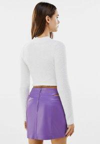Bershka - Mini skirt - mauve - 2