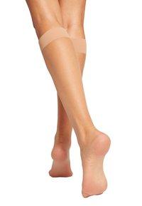 Wolford - Knee high socks - bronze - 1
