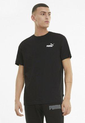 ESS SMALL LOGO TEE - Basic T-shirt - mottled anthracite