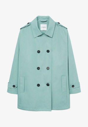 SNOW8 - Trenchcoat - pastelgrøn