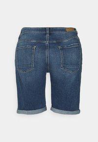 Esprit - BASIC - Denim shorts - blue medium wash - 1