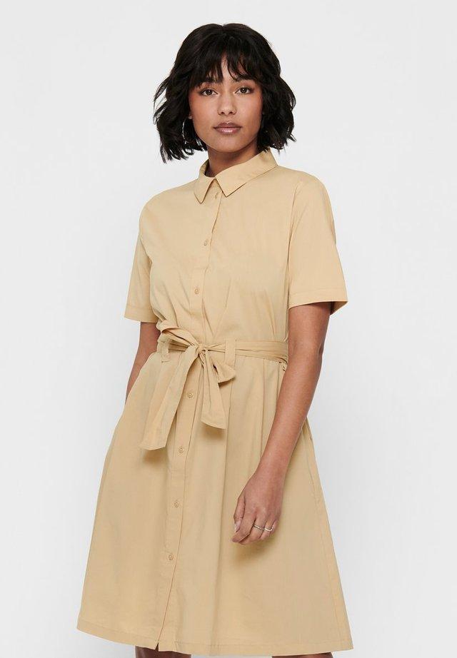 MILLIE  - Shirt dress - warm sand