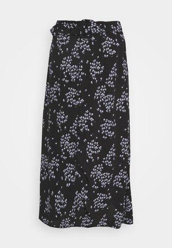 HUNCH PRINT SKIRT - Áčková sukně - black