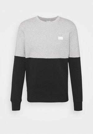 JCONOVO CREW NECK - Long sleeved top - light grey melange