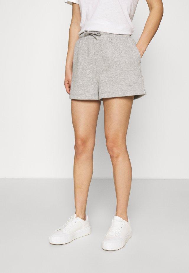 CLOEY - Pantaloni sportivi - grey dusty/light grey melange