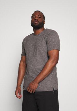 ALAIN - T-shirt basic - pewter
