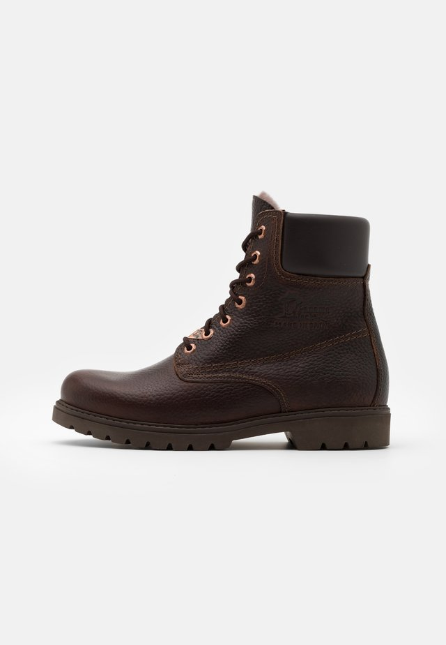 IGLOO - Lace-up ankle boots - marron/brown